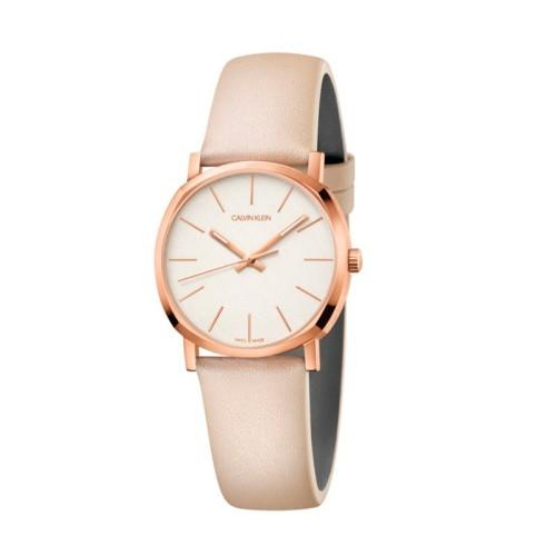 Reloj Calvin Klein Minimal Plata 35mm K3M2212Z