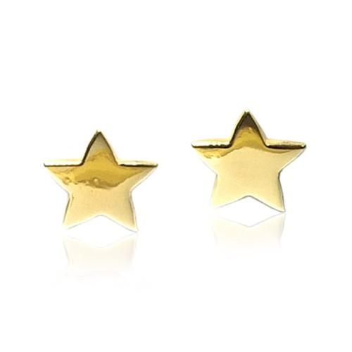 Pendientes oro amarillo estrella G00100440