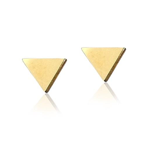 Pendientes oro amarillo triángulo G00100439