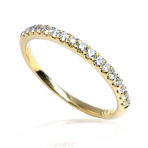 Anillo oro amarillo diamantes B01101864