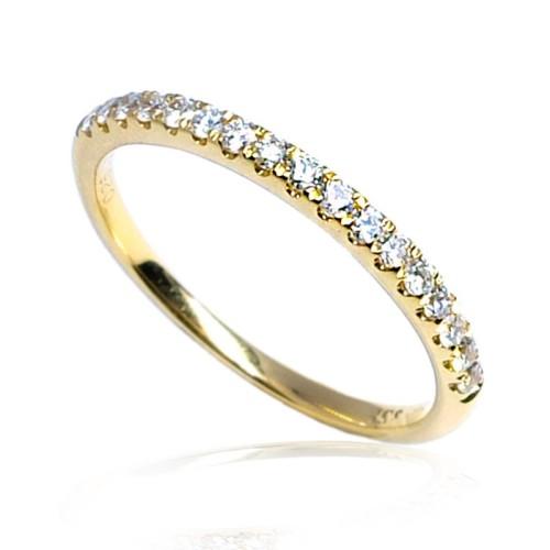 Anillo oro amarillo diamantes B01101864