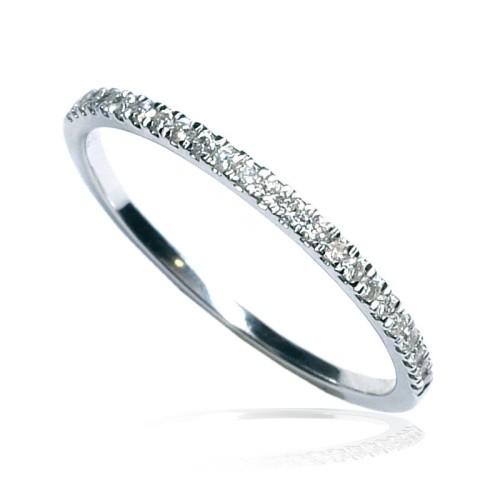 Anillo oro blanco y diamantes B01101779