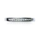Anillo oro blanco y diamante B01101861