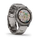 Reloj Garmin Fénix 6 Zafiro Titanio con correa de titanio 010-02158-23