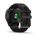 Reloj Garmin Fénix 6 Pro negro con correa negra 010-02158-02