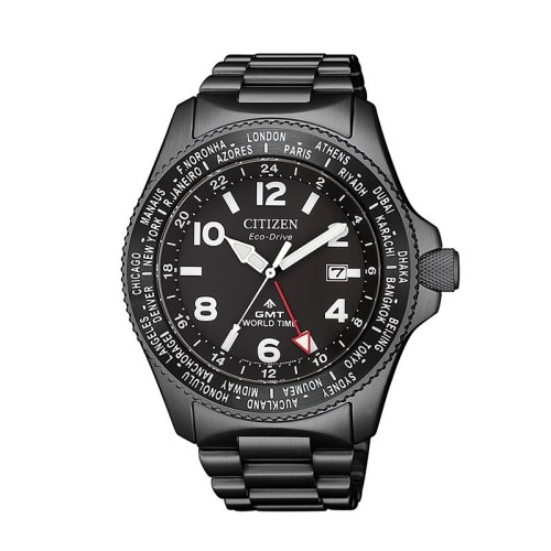 Reloj Citizen Promaster Eco Drive GMT BJ7107-83E