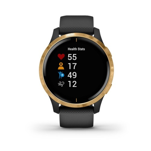 Reloj Garmin Venu™ (NEGRO - DORADO) 010-02173-32