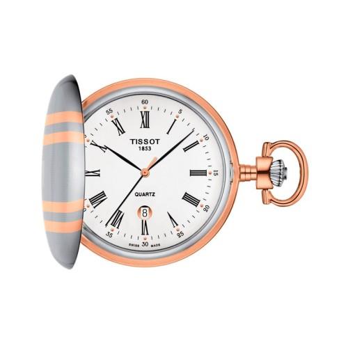 Reloj bolsillo Tissot Savonnette Cuarzo T8624102901300
