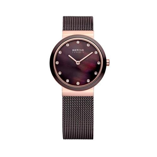 Reloj Bering Ceramic Marron 10725-262
