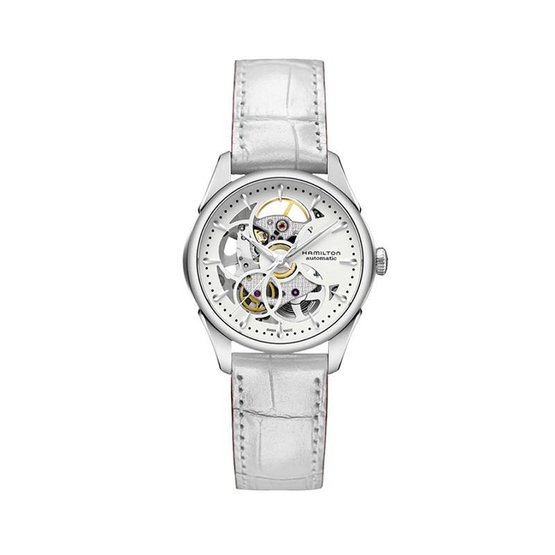Reloj Hamilton Jazzmaster Viewmatic Skeleton Lady H32405811