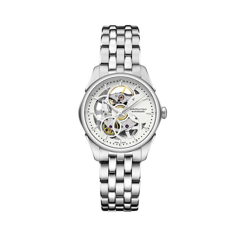 Reloj Hamilton Jazzmaster Viewmatic Skeleton Lady H32405811