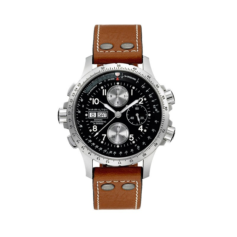 Hamilton X-Wind - Khaki Aviation Auto Chrono H77616533