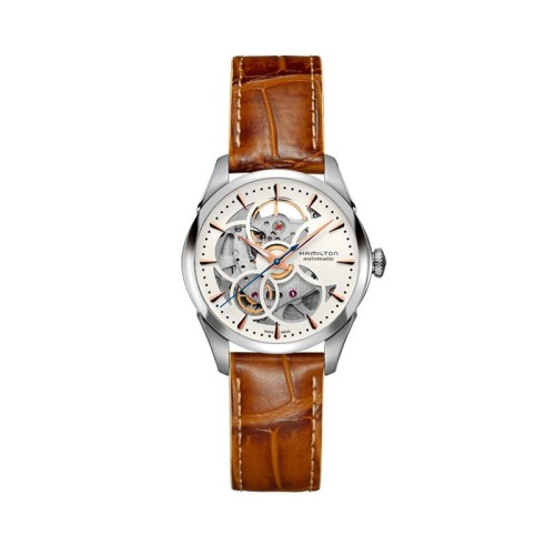 Reloj Hamilton Jazzmaster Viewmatic Skeleton Lady H32405551