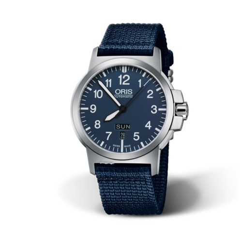 Reloj Oris BC3 Advanced Day Date Esfera Azul 735 7641 4165