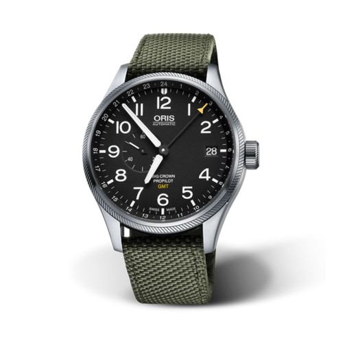 Reloj Oris Big Crown Propilot GMT Small Second 45mm 01 748 7710 4164-07 5 22 14FC