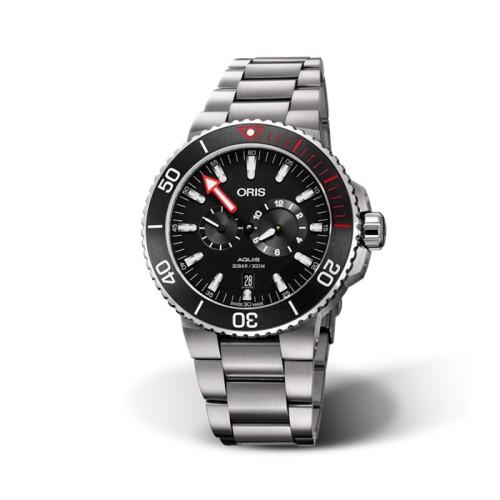 Reloj Oris Aquis Regulateur 'Der Meistertaucher' 01 749 7734 7154-07 4 24 66 TEB-SET