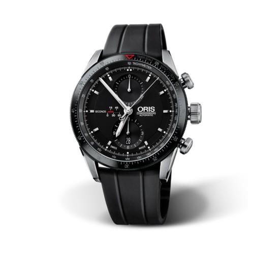 Reloj Oris Artix Gt Chronograph 44mm Esfera negra 674 7661 4434RS
