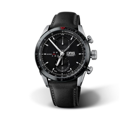 Reloj Oris Artix Gt Chronograph 44mm Esfera negra 01 674 7661 4434-07