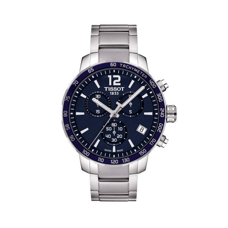 Reloj Tissot T-Sport QUICKSTER Chronograph T095.417.11.047.00 (Esfera azul)