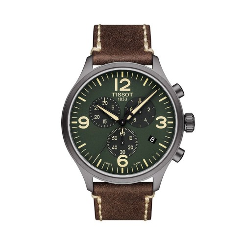 Reloj Tissot Chrono XL T-Sport verde 45mm T116.617.36.097.00