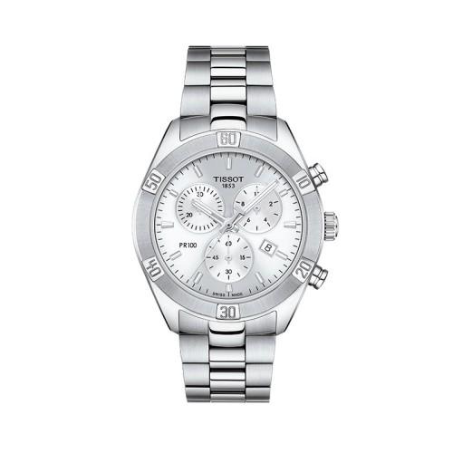Reloj Tissot T-Classic PR 100 - Sport Chic - Chrono T101.917.11.031.00