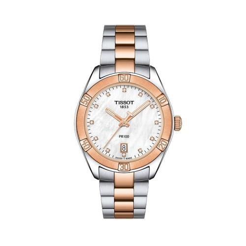 Reloj Tissot PR100 SPORT CHIC 36 mm T101.910.22.116.00