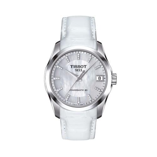 Reloj Tissot T-Classic Couturier POWERMATIC 80 LADY 32MM T035.207.16.116.00
