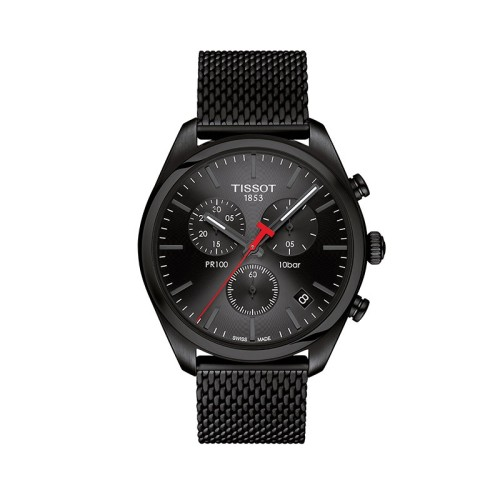 Reloj TISSOT T-CLASSIC 'PR 100' CHRONOGRAPH T101.417.33.051.00