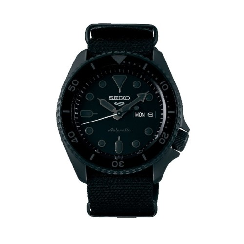 Reloj Seiko 5 Sports -total black- SRPD79K1