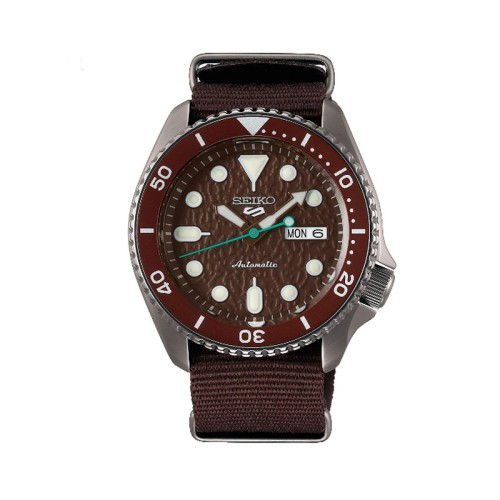 Reloj Seiko 5 Sports -BROWN - SRPD85K1