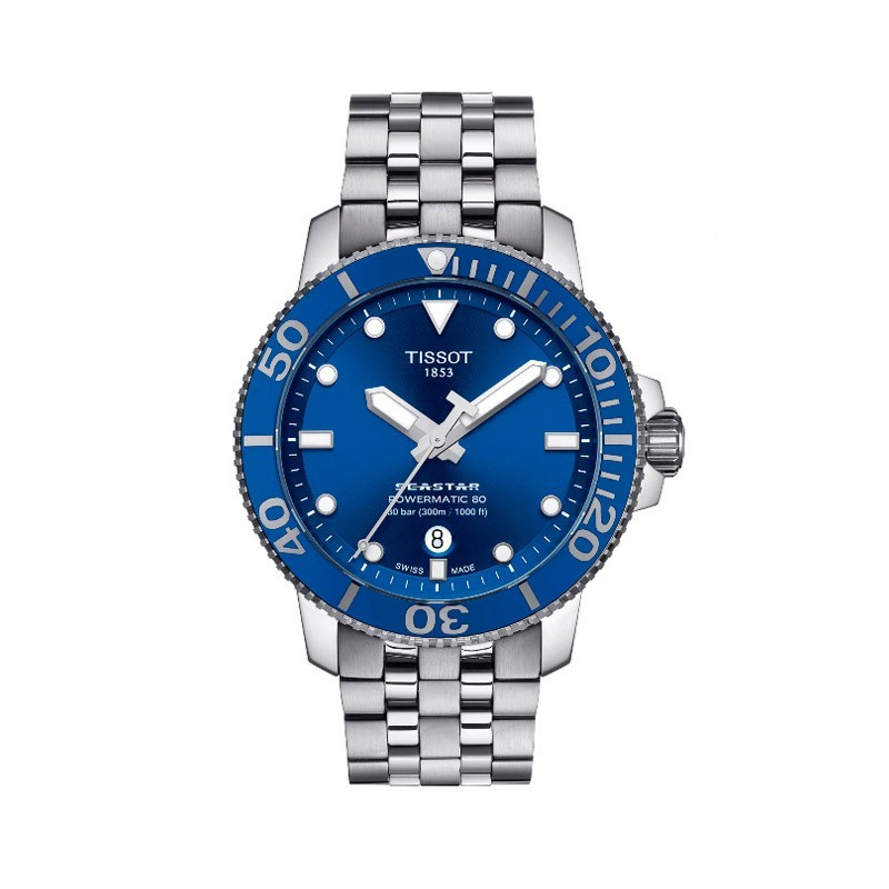 Reloj TISSOT SEASTAR 1000 POWERMATIC 80 43 mm T120.407.11.041.00