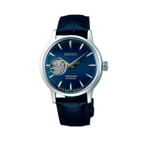 Reloj SEIKO Presage automático 33,8mm azul SSA785J1