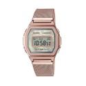 reloj CASIO VINTAGE - ORO ROSA -A1000MCG-9EF