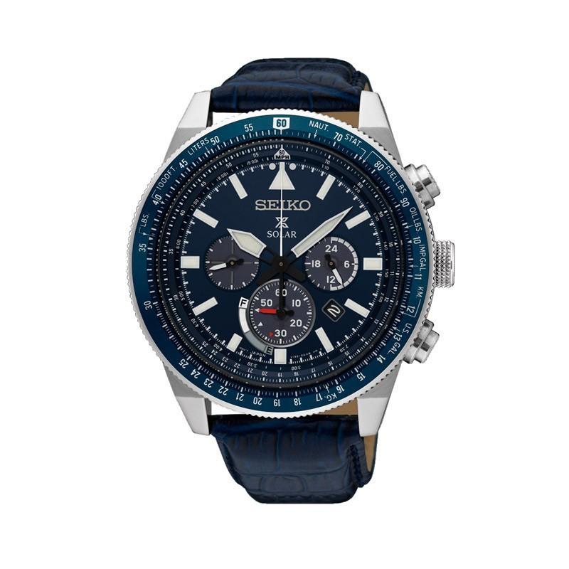 Reloj Seiko Prospex Cielo Solar 45 mm SSC609P1
