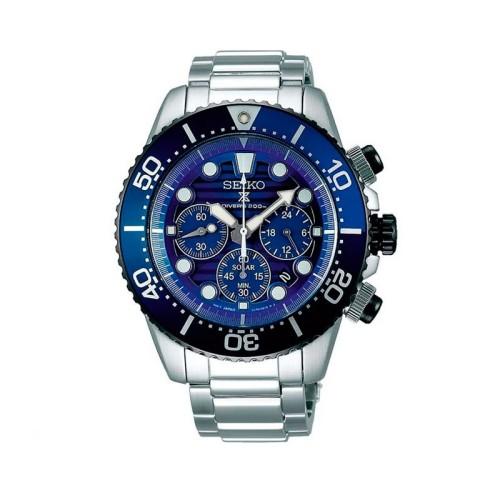 Reloj Seiko Prospex Solar Edición Especial Save the Ocean SSC675P1