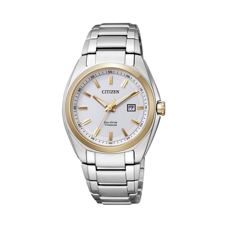 Reloj Citizen Eco Drive Super Titanium Hombre AW1244 56E