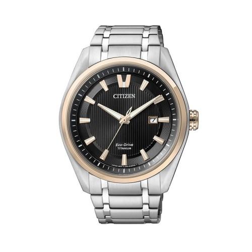 Reloj Citizen Eco-Drive Super Titanium Hombre 1240 AW1244-56E