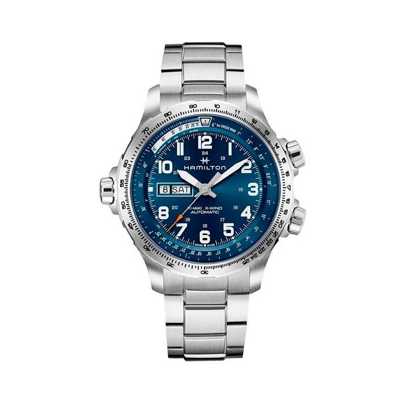 Reloj Hamilton Khaki Aviation X Wind Day Date Auto H77765141