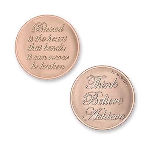 Moneda pequeña Blessed & Believe Mi Moneda MON-BLE-03-S