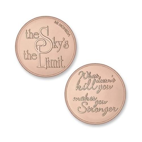 Moneda pequeña Sky&Stronger Mi Moneda MON-SKY-02-S