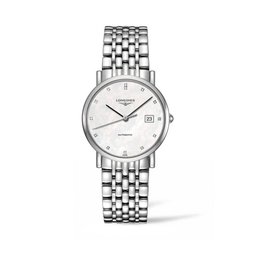 Reloj Longines Elegant Collection automático 34,5mm L4.809.4.87.6