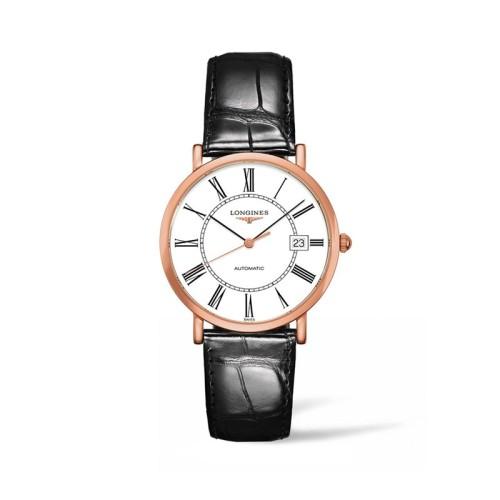Reloj Longines Elegant Collection automatico piel 37mm L4.787.8.11.0