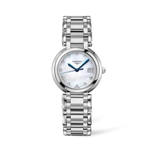 Reloj Longines PrimaLuna señora cuarzo 30mm L8.112.4.87.6