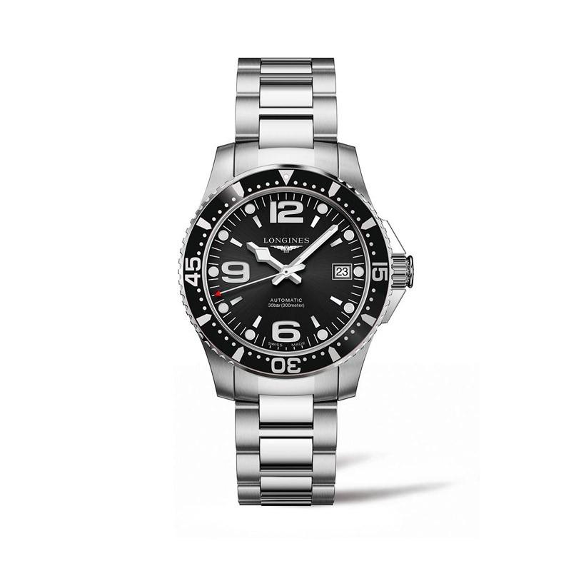 Reloj Longines HydroConquest negro 39mm L3.741.4.56.6
