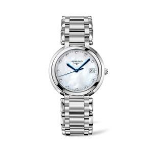 Reloj Longines PrimaLuna señora cuarzo 34 mm L8.114.4.87.6