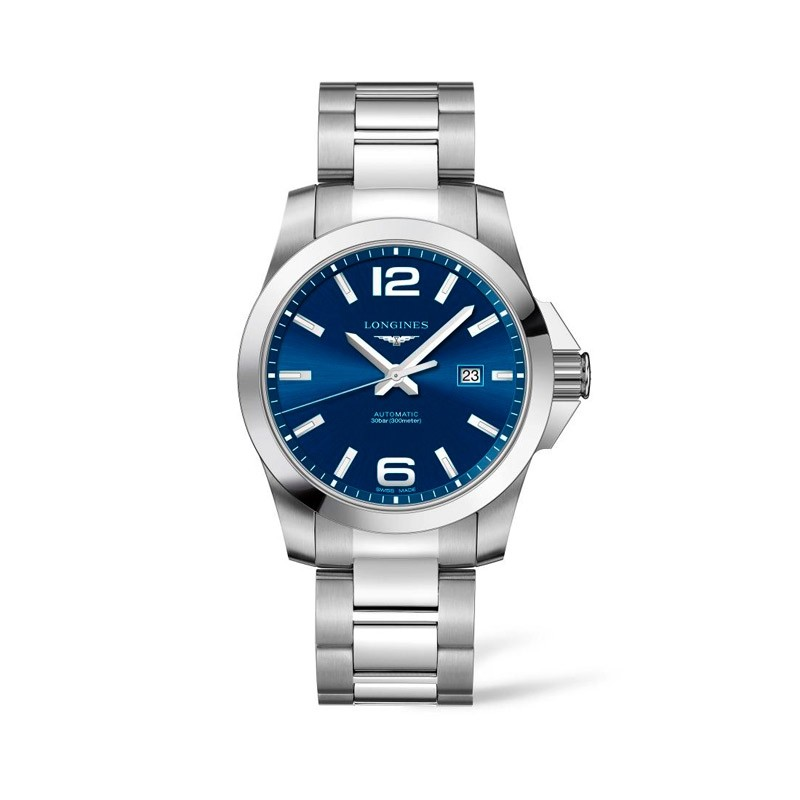Reloj Longines Conquest Caballero 43 mm L3.778.4.96.6