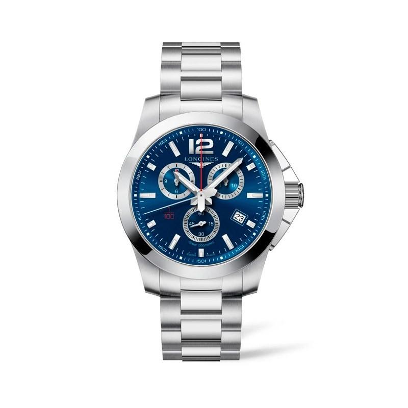 Reloj Longines Conquest CRONÓGRAFO L3.800.4.96.6 (44mm)