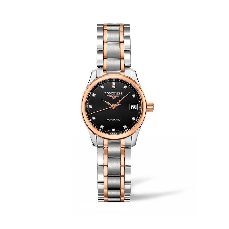 Reloj Longines Master Collection diamantes 25,5mm L2.128.5.59.7