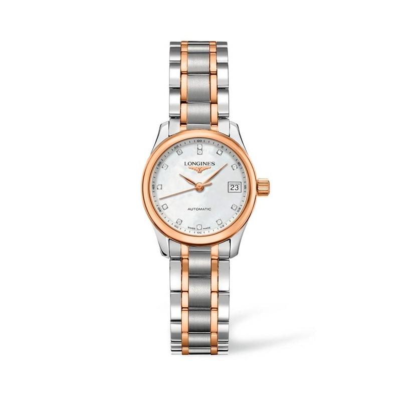 Reloj Longines Master Collection diamantes 25,5mm L2.128.5.89.7
