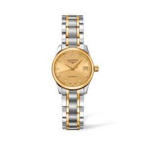 Reloj Longines Master Collection dorado 25,5mm L2.128.5.37.7